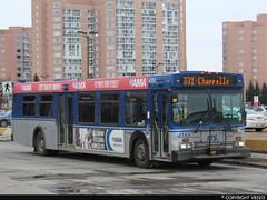Edmonton Transit System #4166 (vb5215's Transportation Gallery) Tags: ets edmonton transit system 1999 new flyer d40lf