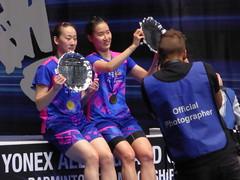 P1060953 (Commander Idham) Tags: yonex all england badminton barclaycard arena birmingham mix womens mens doubles singles final chang ye na lee so hee korea south