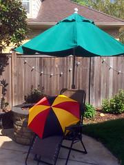 Umbrella shading - umbrella shaded (byzantiumbooks) Tags: umbrellas
