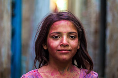 Little (Harshal Orawala) Tags: holi2017 holi2k17 121clicks india barsana portrait colours festival holi