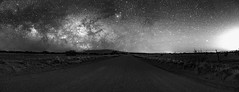 Milky Way Black And White Pano (Jose R. Sandoval ONYXONE Photography) Tags: astrometrydotnet:id=nova2039961 astrometrydotnet:status=solved