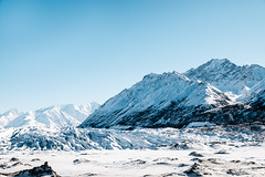 Matanuska Glacier-2 (WorbJay) Tags: alaska glacier blue winter snow ice mountains hike white