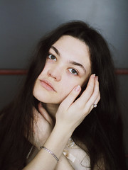 Sabina (undertovv) Tags: beauty girl pale skin black hair softness id hands jewellery pure gentlewoman