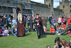 DSC_6593 (nordic lady) Tags: alnwick castle harry potter sightseeing england alnmouth holidays easter 2017