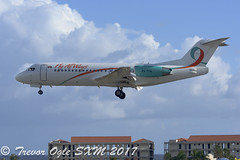 DSC_9821Pwm (T.O. Images) Tags: pztfa fly all ways fokker 70 sxm st maarten princess juliana airport insel air