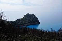 turquoise pointed out by a ground burnt  ... (eudibi) Tags: maratea marina tirreno sea turchese turquoise basiulicata italy potenza coast sony alpha5000 ilce mirrorless blue