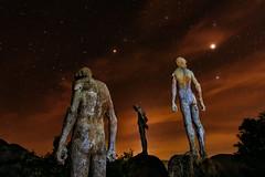 THE LOOKOUT OF MEMORY (Fernando Guerra Velasco) Tags: largaexposición lookout memory mirador miradordelamemoria nocturna lightpainting