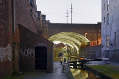 The Birmingham & Fazeley Canal, Livery Street, Birmingham 26/12/2016 (Gary S. Crutchley) Tags: birmingham and fazeley canal livery street st uk great britain england united kingdom urban city west midlands westmidlands nikon d800 travel 1635mm f40g af s ed nikkor navigation cut inland waterway bcn narrowboat lock walsall junction wyrley essington canalscape scape