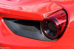 Ferrari 488 GTB Spyder (aguswiss1) Tags: ferrari488gtbspyder ferrari 488 gtb spyder spider roadster cabrio cabriolet sportscar supercar fastcar 300kmh 200mph dreamcar redcar switzerland