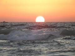Sunset at sea (YamTikhoni) Tags: mediterranean mediterraneansea sunset waves israel israël sea seascape