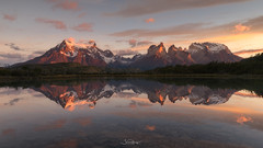 Torres del Paine National Park Chile. (shaunyoung365) Tags: mountain patagonia chile sonya7rii reflection landscape