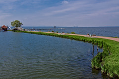 Steinhude - Promenade (reworked) (mikehaui60) Tags: olympuspenepm2 pen epm2 mft steinhude promenade steinhudermeer wunstorf lowersaxony lake germany landscape madewithmacphun madewithluminar luminar postcard photography