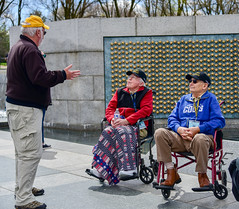 L-R:  Glass, Richard / Miller, Norman (Norm) - 23 White (indyhonorflight) Tags: ihf indyhonorflight angela napili 2223 april