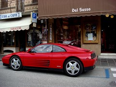 Ferrari 348tb, Asiago (maxrevellation) Tags: car classiccars classic ferrari 348 pininfarina asiago street italia italy streetphotography sporstscar v8 italian 90s nineties