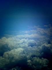 Mt. Fuji / 富士山 Peek-a-boo (joeclin) Tags: japan ジャパン jpn asia aerial mountain mountfuji mtfuji appleiphone4s naritashi chiba 千葉県 成田市 clouds 富士山 amatuer outdoor color phoneography iphoneography chibaprefecture inflight flyover