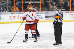 "Missouri Mavericks vs. Allen American, March 22, 2017, Silverstein Eye Centers Arena, Independence, Missouri.  Photo: © John Howe / Howe Creative Photography, all rights reserved 2017 • <a style=""font-size:0.8em;"" href=""http://www.flickr.com/photos/134016632@N02/33565522246/"" target=""_blank"">View on Flickr</a>"
