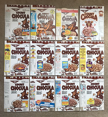 Vintage General Mills Count Chocula Cereal Box Group Monster Cereal (gregg_koenig) Tags: vintage general mills count chocula cereal box group monster old 70s 80s 1980s 1970s vampire dracula display collection