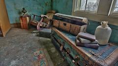 Rose's Farmhouse (60) (Darryl W. Moran Photography) Tags: urbandecay abandonedfarmhouse frozenintime leftbehind oldfarm urbex urbanexploration darrylmoranphotography oldfurniture