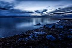Blue Hour @ Crescent Beach, Surrey, BC (gks18) Tags: canon crescentbeach surreybc bluehour longexposure lightroom nik beach landscape seascape