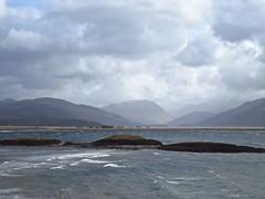 8393 Glen Coe across Loch Linnhe (Andy - Busyyyyyyyyy) Tags: 20170314 ballachulish bbb bridge ccc clouds ggg glencoe iii islets lll lochlinnhe mist mmm rocks sealoch sss