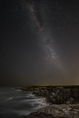 Milky Way from Cape Solander 2 (Bobby Krstanoski - Photography) Tags: australia canon canon5dmarkiii canonef1635f28 clearsky cliffface cliffs eastcoastaustralia landscape longeposure milkyway nsw night ocean outdoor places rocks seascapes stars