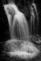 Secret places (McRusty) Tags: waterfall cascade cataract slow shutter highland glen scotland