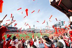 Flying Carps (Mr.Lampong) Tags: japan hiroshima carps baseball