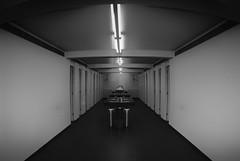 Spieglein Spieglein an der Wand (tan.ja1212) Tags: spiegel mirror spiegelung reflection monochrom schwarzweis tür door lampe lamp waschbecken washbasin toilette wc toilet