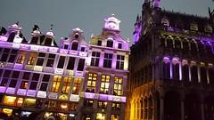 """Pour terminer l'album une journée à Bruxelles pour l'exposition """"Sculptures de Picasso"""", une vidéo de la Grand-Place de Bruxelles pour que vous ayez une idée de l'ambiance (claude lina) Tags: claudelina belgium belgique bruxelles brussel grandplace vidéo architecture"""