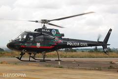PP-FJC Policia Civil do DF (Thiago Pereira Machado) Tags: bsb brasilia ppfjc helicopter pcdf civil df policia policial helibras esquilo ecureil