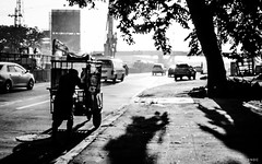All people are the same, So who are you to judge? (BNDC) Tags: people street manila blackandwhite morning monochrome bnw bw grey city family