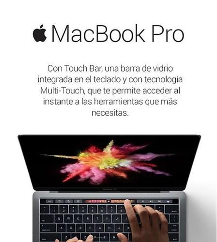 Adquiere en @compudemano tu nuevo MacBook Pro Retina con TouchBar. #cadadiamejor. Visita nuestra tienda o llámanos Bogotá: (1) 381 9922 - Medellín: (4) 204 0707 - Cali (2) 891 2999 - Barranquilla: (5) 316 1300 - Pereira: (6) 335 9494 - Celular/WhatsApp: (