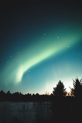 Arctic twilight and the Northern Lights (Nippe16) Tags: auroras landscape astro night lights dreamy atmosphere nature