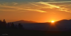 in the afterglow (AndyW Harz) Tags: sonnenuntergang sunset landschaft berge wurmberg deutschland germany harz