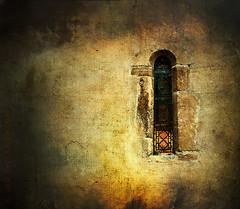 Answer My Prayer (sbox) Tags: churches windows architecture england textures stainedglass blewbury walls stone