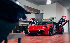Lykan. (Alex Penfold) Tags: w motors wmotors lykan hypersport supercars supercar super car cars autos alex penfold 2017 dubai middle east sick doors red