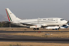 Fuerza Aerea Mexicana Boeing 737-200 3520 MMMX 29MAR17 (FelipeGR90) Tags: 737 jurassic aeropuerto internacional benito juarez boeing ciudad de mexico fuerza aerea mexicana mexican air force city 3520 732 737200 aicm b732 b737 cdmx fam mex mmmx sedena