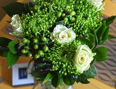 Spring Greens (Jainbow) Tags: freen flowers bunch bouquet gift friend annmari jainbow