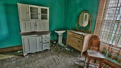 Rose's Farmhouse (49) (Darryl W. Moran Photography) Tags: urbandecay abandonedfarmhouse frozenintime leftbehind oldfarm urbex urbanexploration darrylmoranphotography oldfurniture