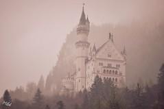Schloss Neuschwanstein (Tanja-Milfoil) Tags: nikon foto aufnahme pic shot germany deutschland milfoil regen nebel tanja ludwig hohenschwangau schwangau märchenschloss schloss neuschwanstein