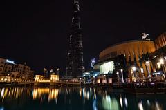 Downtown Dubai - The centre of now (Aso Nihad) Tags: touit2812 zeiss carlzeiss sony a6300 dubai burj al khalifa night slow shutter landscape reflection manfrotto piximinitripod