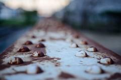 Rust Away (brev99) Tags: d610 nikon50mmf18d bokeh shallowdof bridge tulsa bradyartsdistrict urban photoshopelements12