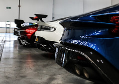 Those Rears (ak_russ) Tags: aston astonmartin vulcan gt8 zagato one77 car cars auto autos supercar supercars hypercar hypercars rear wings collection pistonheads factory parked