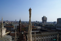 MILANO (Fimeli) Tags: travel milano view roof terrace city