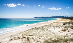 Spirits Bay (loveexploring) Tags: farnorth kapowairua newzealand northisland piwhane spiritsbay tepakicoastaltrail bay beach bluesky coast landscape sanddune seascape