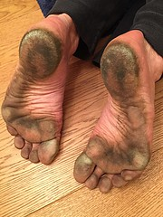 after a walk in the city (danragh) Tags: feet sporchi piedineri barefoot citysoles dirtysoles