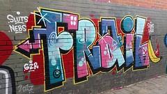 'Frail'... (colourourcity) Tags: graffiti streetart streetartnow streetartaustralia awesome burncity colourourcity nofilters original frail melbourne