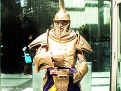 DSCF1228 (somesortofsiren) Tags: sakura con anime manga seattle convention skyrim elder scrolls dwarven armor