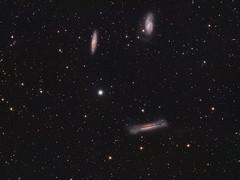 The Leo Triplet: M65, M66 and NGC 3628 (drdavies07) Tags: messier65 messier66 ngc3628 thehamburger m65 m66