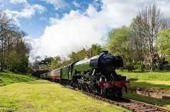 Flying Scotsman (Articdriver) Tags: bluebellrailway steam railway train locomotive pacific gresley flyingscotsman 60103 a3 lner sussex sharpthorne westhoathly